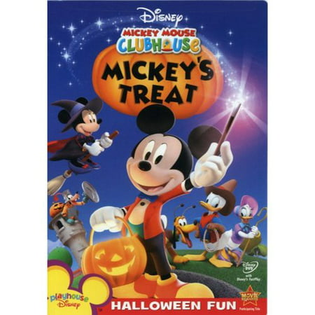 Mickey Mouse Clubhouse: Mickey's Treat (DVD) - Mickey Mouse Old Halloween Movie
