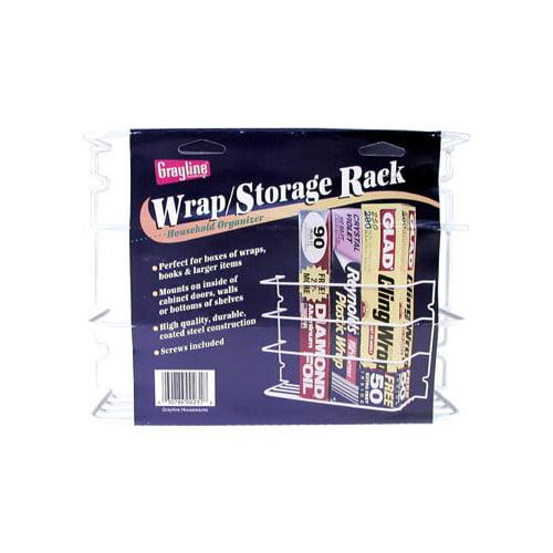 Rebrilliant Saran Wrap and Aluminum Foil Cabinet Door