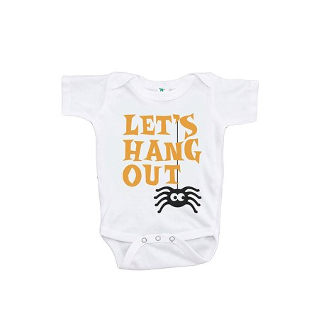 Custom Party Shop Baby's Let's Hanging Out Halloween Onepiece - 0-3 Month Onepiece