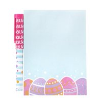 Way To Celebrate Easter Notepad with Pen, 40 Sheets