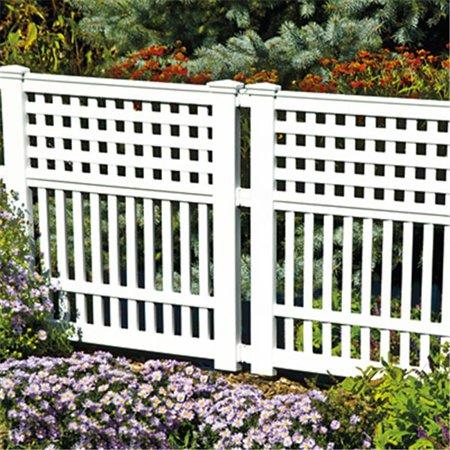 Suncast Grand View Fence White