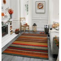 Mohawk Home Avenue Stripe Indoor/Outdoor Area Rug, 5' x 8', Multi-Colored