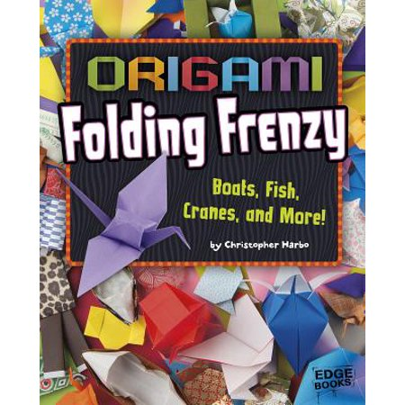 Origami Folding Frenzy : Boats, Fish, Cranes, and - Porcelain Origami Crane