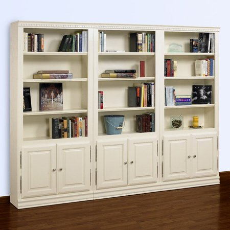 A E Hampton 84 Inch Wall Bookcase With Doors