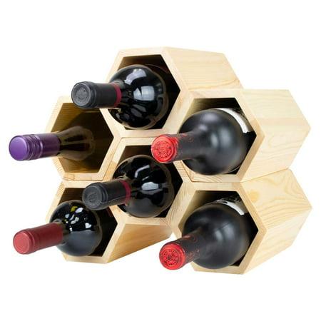 Atterstone Customizable Honeycomb Wine Rack Wall Mounted Wine