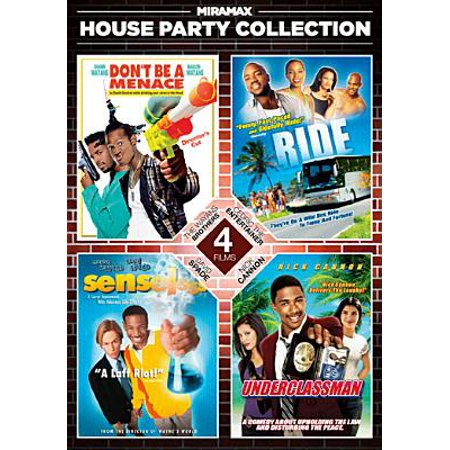 Miramax House Party Collection: Senseless / Underclassmen / Ride / Don't Be A Menace To South Central...