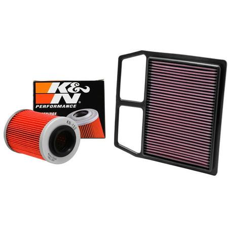 k n air and oil filter black kit for atv utv can am. Black Bedroom Furniture Sets. Home Design Ideas