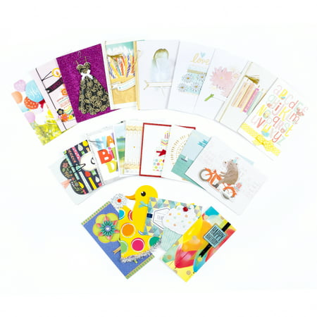 Hallmark All Occasion Handmade Boxed Assorted Greeting Card Set (Pack of 24)