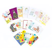 Cards stationery invitations walmart product image hallmark all occasion handmade boxed assorted greeting card set pack of 24 m4hsunfo