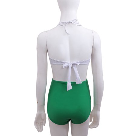Vintage Ruffle High Waist Bikini Swimwear Women Swimsuit Bathing Suit Swimsuits Sexy Women Swimsuit Bikini Set