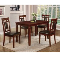 Home Source Oscuro 5 Piece Dining Set