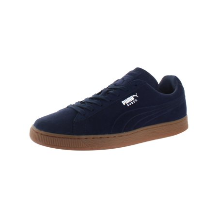 watch 89138 20c88 PUMA Suede Emboss Sneaker, Peacoat/Gum, 12 D US