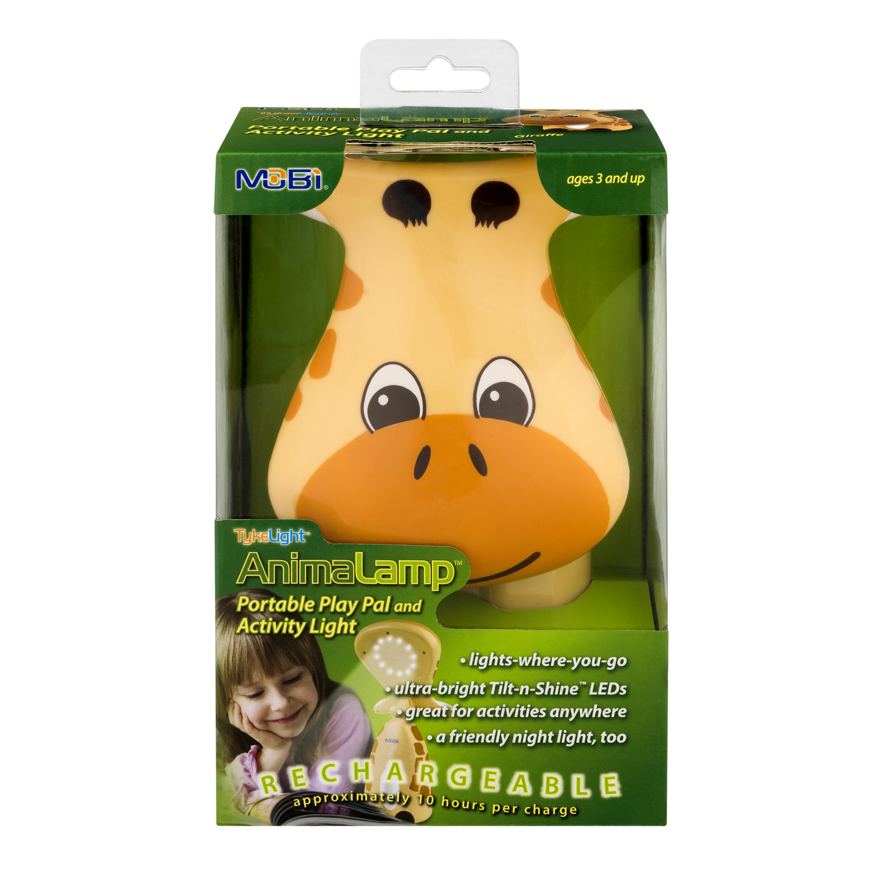 Tyke Light Portable Play Pal And Activity Light Giraffe, 1.0 CT