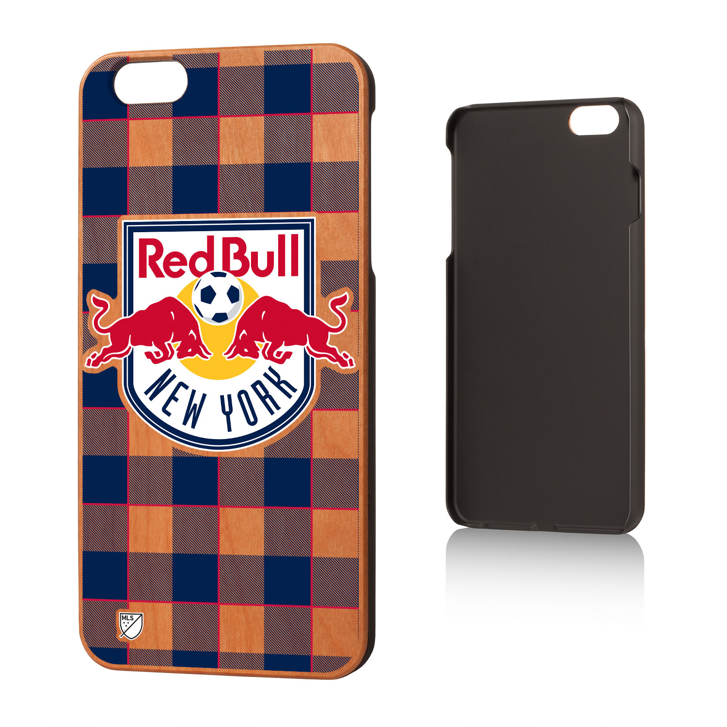 New York Red Bulls RED BULLS Plaid Cherry Case for iPhone 6 Plus