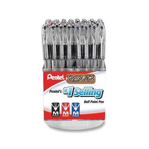 Pentel R.S.V.P Ballpoint Stick Pen PENBK9112