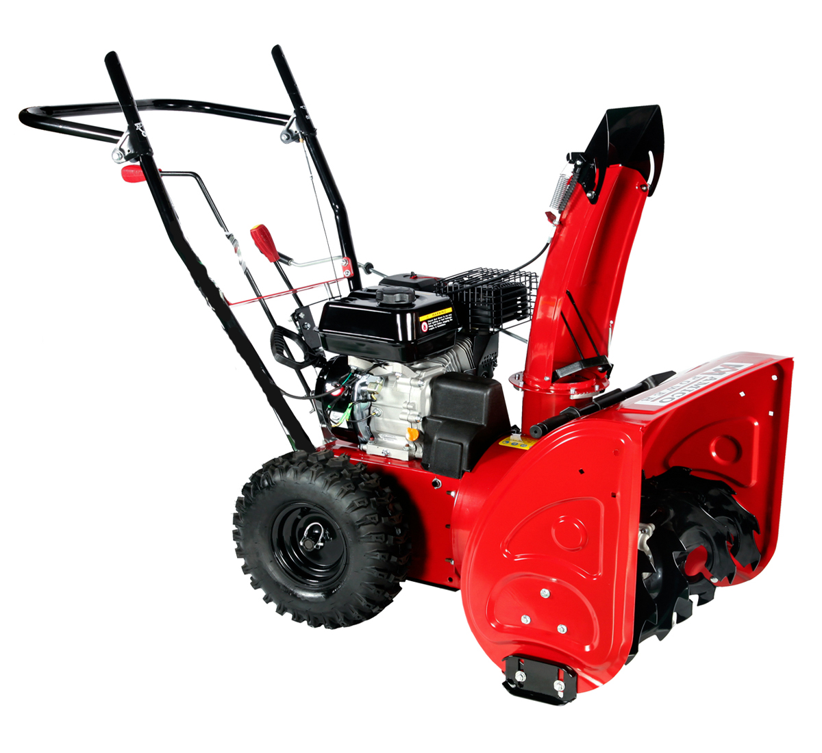 AST 24 inch 196cc Two-Stage Gas Snow Blower Snow Thrower Amico Power by Amico Power Corp