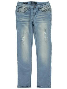 "Big Girls' ""White Sands"" Skinny Jeans (Sizes 7 - 16)"
