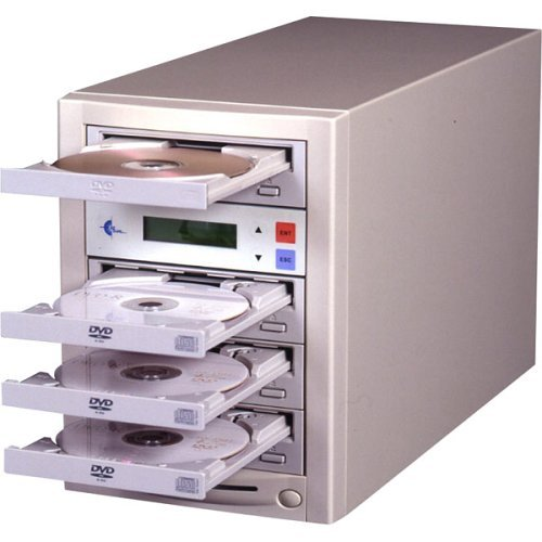 Ez Dupe EZD3TDVDLGB DVD CD Duplicator with LG Drives by EZ Dupe