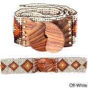 Lakhays Block Rock Beaded Belt (Indonesia)