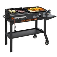 Blackstone Duo Griddle & Charcoal Grill Combo