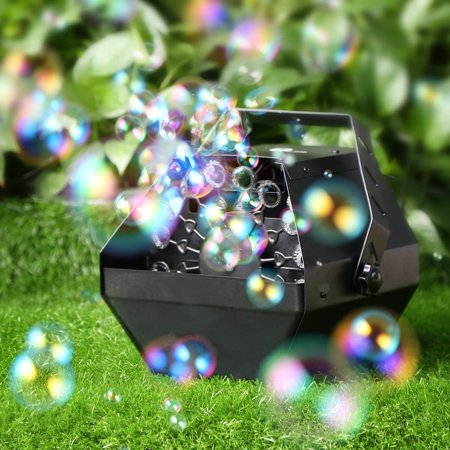 Bubble Machine,VIRHUCK Professional Automatic Bubble Machine with High Output, Automatic Blowing Mechanism For Outdoor or Indoor Use for $<!---->