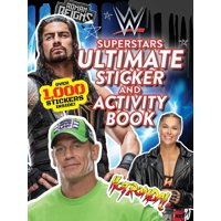 Wwe: Wwe Superstars Ultimate Sticker and Activity Book (Paperback)