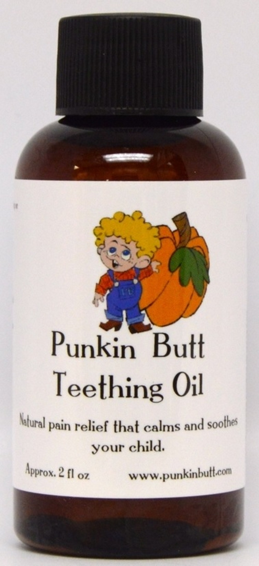 Punkin Butt Teething Oil - 2 Ounce