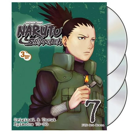 Naruto Shippuden Uncut Set 7 (DVD) ()