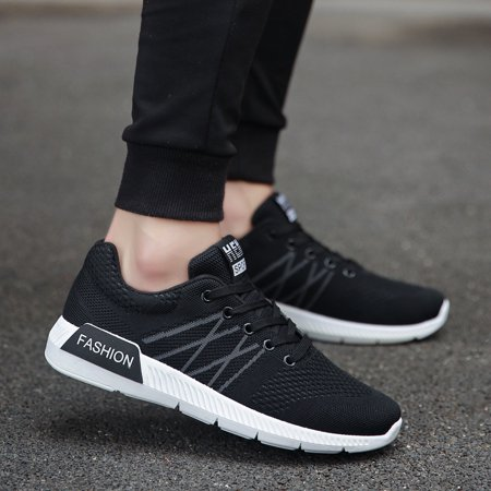 Mesh cloth breathable wild fashion casual sports men's net shoes running shoes men's