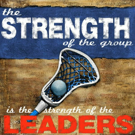 Motivational Lacrosse Quote 12x12 Image Paper Size 13x19 Home/office Decor! POD (Lacrosse Decorations)