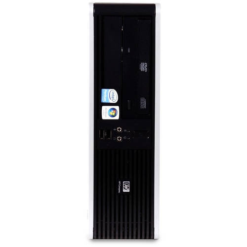 Refurbished HP DC5800 SFF Desktop PC with Intel Core 2 Duo E8400 Processor, 8GB Memory, 2TB Hard Drive and Windows 10 Home (Monitor Not Included)