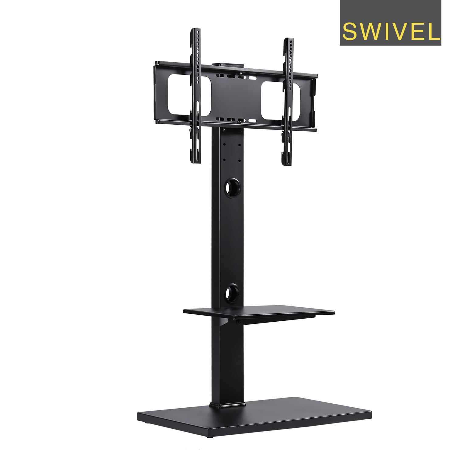 RFIVER Swivel Floor Tv Stand ,tv Stand And Wall Mount,wood Tv Stand,