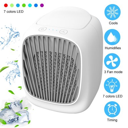 Fysho Portable Air Conditioner Fan Refrigerator Desktop Type Air Cooler Small Air Conditioner Desktop Dormitory Household Air (Best Type Of Air Conditioner)