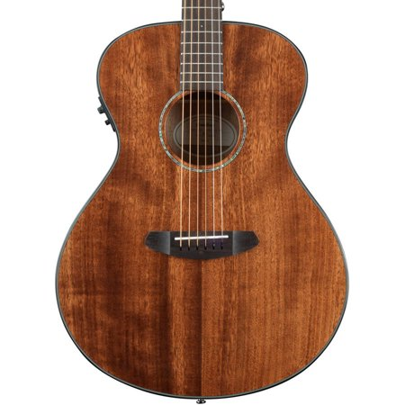 Breedlove Pursuit Concert Mahogany Acoustic Electric Guitar with Breedlove Gig Bag and ChromaCast