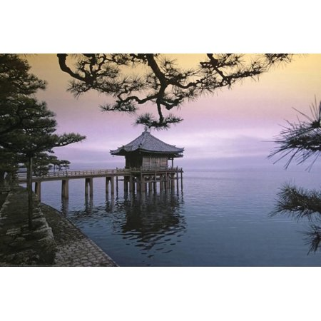 Zen (House on Water) Art Poster Print Poster -