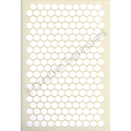 Creative Expressions Stencils Collection - Honeycomb (Honeycomb Stencil)