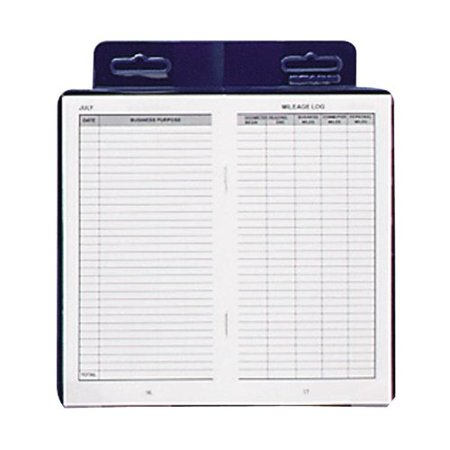 Dome Publishing Deluxe Auto Mileage Log Book - Auto Mileage Log