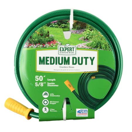 Expert Gardener Medium Duty 5/8″ x 50′ Garden Hose Now $12.48 (Was $30)