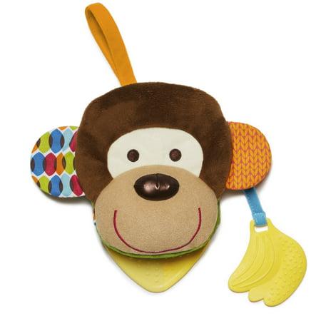 Skip Hop Bandana Buddies Puppet Book, Monkey