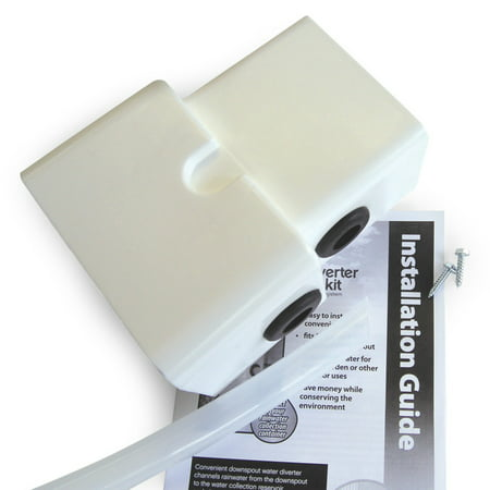 Diverter Shaft (Emsco Group 2275-1 Rescue Dual Diverter Kit, White - Fits Both 2x3 & 3x4)