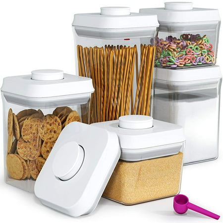Pop & Lock 5pc Airtight Food Storage Container