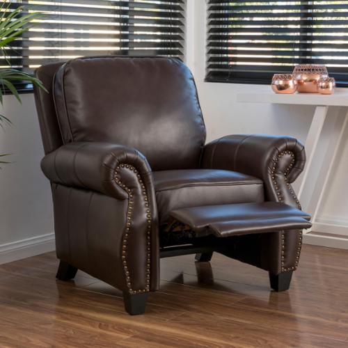 Attrayant Christopher Knight Home Torreon PU Leather Recliner Club Chair By
