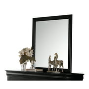 ACME Louis Philippe Wooden Frame Mirror, Multiple Colors