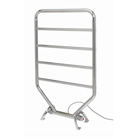 Warmrails Traditional 34 in. Towel Warmer in Satin Nickel Warmrails Towel Warmer Drying Rack