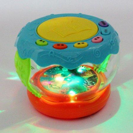 Music Light-emitting Drum Educational Toy Baby Learning Infant LED Toys