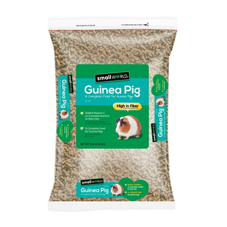 Guinea Pig Fruit Sticks - Small World Complete Feed for Guinea Pigs, 9 lbs.