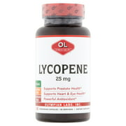 Olympian Labs Lycopene Dietary Supplement, 25mg, 60 count