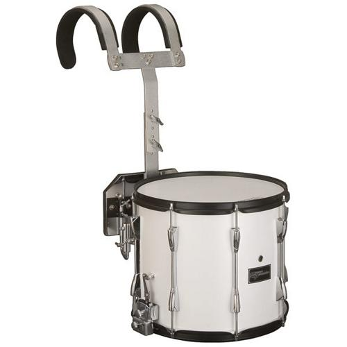"""Groove Percussion MSD1214W 12""""x14"""" Marching Snare Drum with Vest by"""