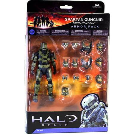 McFarlane Toys Halo Reach Halo Reach Series 5 Spartan Gungnir Armor Pack - Halo Spartan Armor For Sale