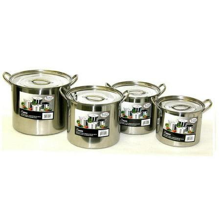 Alpine cuisine 8 piece pot set for Alpine cuisine cookware set